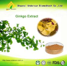 Factory from China supply 100% Ginkgo biloba tablet/Organic ginkgo biloba leaf powder/Benefits ginkgo biloba