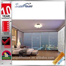 AS/NZ2208 standard luxury jalousie aluminium louvre blade window shutters