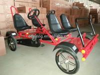 four seat 4 wheel person pedal car