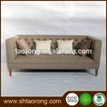 En bois massif tissu de sofa de loisirs so-443
