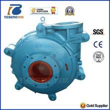 centrifugal slurry pump / volcanic mud ash pump