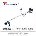 herramienta de mano 33cc zm3301t cadena del condensador de ajuste con la rueda de nylon