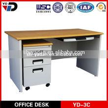 Factory direct sale executive office desk L shaped office desk