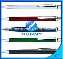 high quality multi-color click metal ball pen,click metal pen