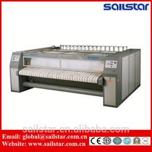 Electric heating laundry flat ironer & sheet ironing machine