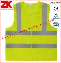 Haute qualité EN20471 haute visibilité gilet avec logo du client