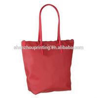 2015 China supplier high quality nylon bag/foldable nylon bag/zipper nylon tote bag