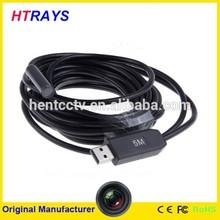 HD 720p waterproof mini 9mm digital usb endoscope video camera with 1600x1200 high resolution