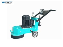 WKG250 concrete epoxy floor grinding and polishing diamond grinding wheel resurfacing can be equipped with vacuum renovating