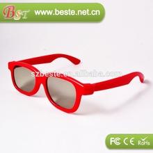 typical model plastic polarized 3d glasses,children 3d glasses