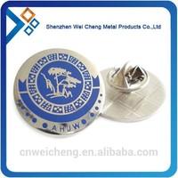 metal football club pin badge emblem