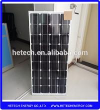 In stock mono 12v 90w solar panel