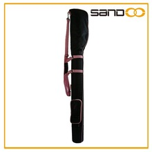 Sandoo alibaba china golf gun golf bag travel cover, black with pink lady golf bag