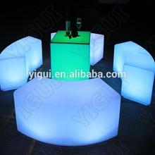 lighting snake stool for outdoor/16 colors change bar stool led bar chair