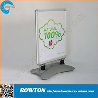 Metal A1 water base A board sign advertising board double a board