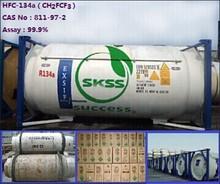 99.9% pureté gaz réfrigérant R134a