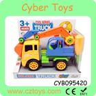 2015 Hot selling plastic intelligent DIY truck model DIY car toy for kids
