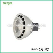 Ienergy cob 450lm 5w 12v led lamp warm white led spotlight MR16