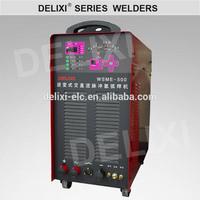 AC DC aluminum gas cylinder pulse tig welding machine