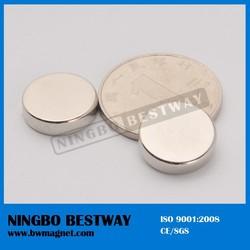 factory supplier n55 neodymium magnet ningbo