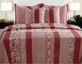 Shanghai honor de algodón o poliéster ropa de cama conjunto/edredones/cobijas/colchas/cubrecamas