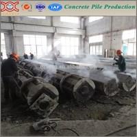Automatci precast prestressed concrete pile mold and complete concrete pile machine