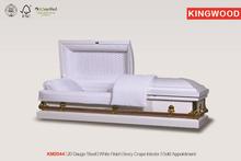 KM 2044 alibaba white coffin buy direct china