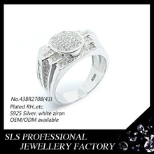 CZ jewelry ring ebay USA jewelry fashion ,professional jewelry rings ,micro setting jewelry Mature male ring
