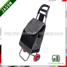 folding shopping trolley cart custom shopping roller bag