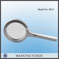 Minghao 8013 3x / 4.5x Metal de lectura lupa electrónica