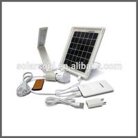 5W 5V 10000mah portable mobile solar charger
