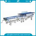 Ag-hs004 de alta qualidade alluminum frame da liga de emergência o transporte do paciente maca da ambulância