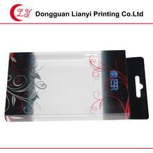 clear custom printing plastic gift box