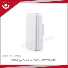 300Mbps WC710 2.4GHz 5GHz Wireless Outdoor CPE With PoE Adapter