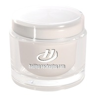 Popular White Round Acrylic Big Cream Jar Wholesale Cosmetic Jar Packaging