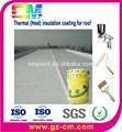 Nano tinta térmica- industrial isolamento térmico de telhado revestimento