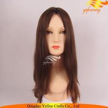 100% European Virgin Hair Ash Blonde Jewish Wig