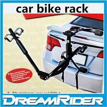 Car bicycle rack steel 3 bikes rear trunk mounted hitch bike rack