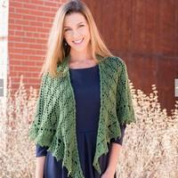 Green Free Knitting Crochet Woman Pattern