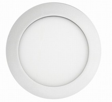 led round panel/slim round led panel 6w/Ultra Thin Panel Light dimmable