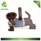 Personalised animal shape PU leather luggage tags
