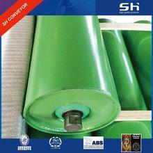china carrier roller supplier steel trough roller