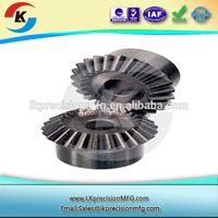 custom steel alloy wheel gear precision machined part