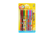 8 pcs blister card packing BIC plastic ball pen