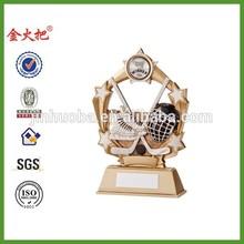 Resin Ice Hockey Starburst Trophy