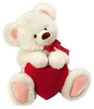 plush bear with a heart , teddy bear plush toy with a heart