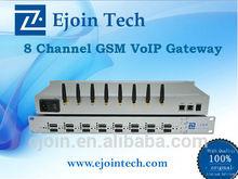 Ejoin 8 port 8/32 sim gsm/cdma/wcdma gateway voip provider