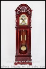 Shandong Tianzhixi Antique Granfather Clock Floor Clock Wood Clock