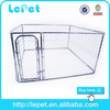 outdoor chain link rolling folding wire pet cage for dog