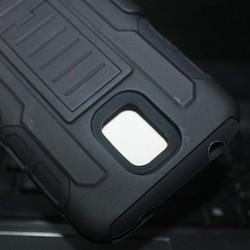 Future Armor Impact Holster Hard Case for Samsung Galaxy S5 Mini Phone Cover + Flim + Stylus